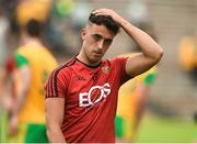 10 June 2018; A dejected Ryan Johnston of Down after the Ulster GAA Football Senior Championship Semi-Final match between Donegal and Down at St Tiernach's Park in Clones, Monaghan.  Photo by Oliver McVeigh/Sportsfile