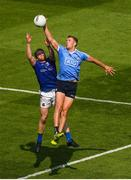 10 June 2018; Paul Mannion of Dublin in action against Padraig McCormack of Longford during the Leinster GAA Football Senior Championship Semi-Final match between Dublin and Longford at Croke Park in Dublin. Photo by Piaras Ó Mídheach/Sportsfile