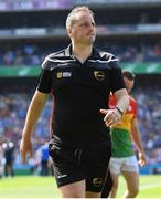 10 June 2018; Carlow selector Steven Poacher during the Leinster GAA Football Senior Championship Semi-Final match between Carlow and Laois at Croke Park in Dublin. Photo by Stephen McCarthy/Sportsfile