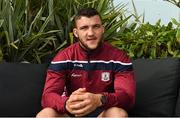 11 June 2018; Damien Comer of Galway poses for a portrait after a Galway Football Press Conference at Loughrea Hotel & Spa, in Loughrea, Galway. Photo by Harry Murphy/Sportsfile
