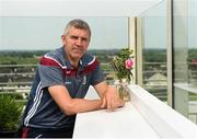 11 June 2018; Galway manager Kevin Walsh poses for a portrait after a Galway Football Press Conference at Loughrea Hotel & Spa, in Loughrea, Galway. Photo by Harry Murphy/Sportsfile