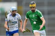 10 June 2018; Colin Coughlan of Limerick during the Electric Ireland Munster GAA Hurling Minor Championship match between Limerick and Waterford at the Gaelic Grounds in Limerick. Photo by Ramsey Cardy/Sportsfile