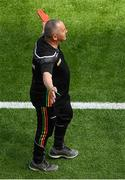 10 June 2018; Carlow manager Turlough O'Brien during the Leinster GAA Football Senior Championship Semi-Final match between Carlow and Laois at Croke Park in Dublin. Photo by Piaras Ó Mídheach/Sportsfile