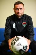12 June 2018; Damien Delaney poses for a portrait following a Cork City press conference at Cork Airport Hotel in Cork. Photo by Sam Barnes/Sportsfile