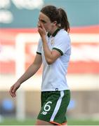 12 June 2018; Karen Duggan of Republic of Ireland following her side's defeat during the FIFA 2019 Women's World Cup Qualifier match between Norway and Republic of Ireland at the SR-Bank Arena in Stavanger, Norway. Photo by Seb Daly/Sportsfile
