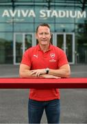 13 June 2018; Former Arsenal player Ray Parlour in attendance during an International Club Game Announcement which will see Arsenal play Chelsea on the 1st of August 2018 at Aviva Stadium, in Dublin. Photo by Sam Barnes/Sportsfile