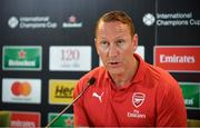 13 June 2018; Former Ray Parlour in attendance during an International Club Game Announcement which will see Arsenal play Chelsea on the 1st of August 2018 at Aviva Stadium, in Dublin. Photo by Sam Barnes/Sportsfile