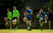 14 June 2018; Niall Scannell, centre, with team-mates, from left, Joey Carbery, Dan Leavy, Tadhg Furlong and Ross Byrne during Ireland rugby squad training at St Kevin's College in Melbourne, Australia. Photo by Brendan Moran/Sportsfile