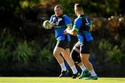 14 June 2018; Jack McGrath, left, and Andrew Porter during Ireland rugby squad training at St Kevin's College in Melbourne, Australia. Photo by Brendan Moran/Sportsfile