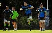 14 June 2018; Devin Toner, centre, and James Ryan, right, during Ireland rugby squad training at St Kevin's College in Melbourne, Australia. Photo by Brendan Moran/Sportsfile