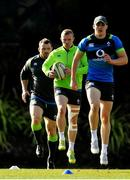 14 June 2018; Keith Earls, centre, during Ireland rugby squad training at St Kevin's College in Melbourne, Australia. Photo by Brendan Moran/Sportsfile