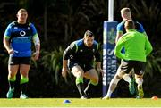 14 June 2018; Cian Healy, centre, during Ireland rugby squad training at St Kevin's College in Melbourne, Australia. Photo by Brendan Moran/Sportsfile