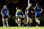 14 June 2018; Tadhg Furlong, centre, during Ireland rugby squad training at St Kevin's College in Melbourne, Australia. Photo by Brendan Moran/Sportsfile