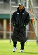 12 June 2018; Bundee Aki during Ireland rugby squad training at St Kevin's College in Melbourne, Australia. Photo by Brendan Moran/Sportsfile