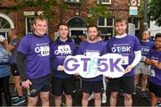 13 June 2018; Members of the Grant Thornton team before the start of the Grant Thornton Corporate 5K Team Challenge in Cork City, Cork. Photo by Matt Browne/Sportsfile