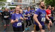13 June 2018; Participants at the start of the Grant Thornton Corporate 5K Team Challenge in Cork City, Cork. Photo by Matt Browne/Sportsfile