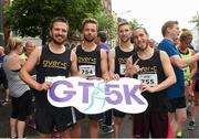 13 June 2018; Members of the OVER-C team before the start of the Grant Thornton Corporate 5K Team Challenge in Cork City, Cork.  Photo by Matt Browne/Sportsfile