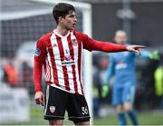 14 May 2018; Jack Doyle of Derry City during the SSE Airtricity League Premier Division match between Derry City and Dundalk at the Brandywell Stadium in Derry. Photo by Oliver McVeigh/Sportsfile