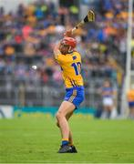 10 June 2018; Peter Duggan of Clare takes a free during the Munster GAA Hurling Senior Championship Round 4 match between Tipperary and Clare at Semple Stadium in Thurles, Tipperary. Photo by Ray McManus/Sportsfile