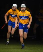 10 June 2018; Patrick O'Connor of Clare leads Conor Cleary and the rest of the Clare players before the Munster GAA Hurling Senior Championship Round 4 match between Tipperary and Clare at Semple Stadium in Thurles, Tipperary. Photo by Ray McManus/Sportsfile