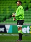 15 June 2018; CJ Stander during the Ireland rugby squad captain's run in AMMI Park in Melbourne, Australia. Photo by Brendan Moran/Sportsfile