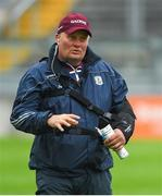 13 June 2018; Galway manager Tony Ward before the Bord Gáis Energy Leinster Under 21 Hurling Championship 2018 Quarter Final match between Offaly and Galway at Bord Na Móna O'Connor Park, in Tullamore, Offaly. Photo by Piaras Ó Mídheach/Sportsfile