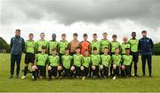 15 June 2018; The NDSL squad prior to the Shield Final match between Limerick Desmond and NDSL during the SFAI Kennedy Cup Finals at University of Limerick, Limerick. Photo by Tom Beary/Sportsfile