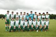 15 June 2018; The Limerick Desmond squad prior to the Shield Final match between Limerick Desmond and NDSL during the SFAI Kennedy Cup Finals at University of Limerick, Limerick. Photo by Tom Beary/Sportsfile