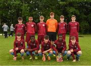 15 June 2018; The Galway team prior to the Trophy Final match between Drogheda and Galway during the SFAI Kennedy Cup Finals at University of Limerick, Limerick. Photo by Tom Beary/Sportsfile