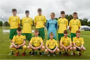 15 June 2018; The Donegal team prior to the Cup semi-final losers match between Donegal and Cavan/Monaghan during the SFAI Kennedy Cup Finals at University of Limerick, Limerick. Photo by Tom Beary/Sportsfile
