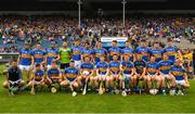 10 June 2018; The Tipperary squad before the Munster GAA Hurling Senior Championship Round 4 match between Tipperary and Clare at Semple Stadium in Thurles, Tipperary. Photo by Ray McManus/Sportsfile