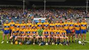 10 June 2018; The Clare squad before the Munster GAA Hurling Senior Championship Round 4 match between Tipperary and Clare at Semple Stadium in Thurles, Tipperary. Photo by Ray McManus/Sportsfile