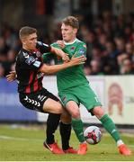 15 June 2018; Kieran Sadlier of Cork City in action against Dano Byrne of Bohemians during the SSE Airtricity League Premier Division match between Cork City and Bohemians at Turner's Cross in Cork. Photo by Eóin Noonan/Sportsfile