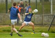 15 June 2018; Kerry goalkeeper Deividas Uosis warms up prior to the EirGrid Munster GAA Football U20 Championship quarter-final match between Limerick and Kerry in Newcastlewest, Co. Limerick. Photo by Diarmuid Greene/Sportsfile