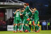 15 June 2018; Gearóid Morrissey of Cork City celebrates with team-mates after scoring his side's first goal during the SSE Airtricity League Premier Division match between Cork City and Bohemians at Turner's Cross in Cork. Photo by Eóin Noonan/Sportsfile