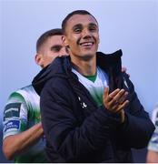 15 June 2018; Graham Burke of Shamrock Rovers following the the SSE Airtricity League Premier Division match between Limerick and Shamrock Rovers at Market's Field in Limerick. Photo by Tom Beary/Sportsfile