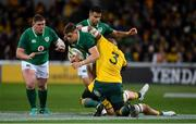 16 June 2018; Garry Ringrose of Ireland is tackled by Brandon Paenga-Amosa of Australia during the 2018 Mitsubishi Estate Ireland Series 2nd Test match between Australia and Ireland at AAMI Park, in Melbourne, Australia. Photo by Brendan Moran/Sportsfile