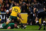 16 June 2018; Tadhg Furlong of Ireland scores his side's second try during the 2018 Mitsubishi Estate Ireland Series 2nd Test match between Australia and Ireland at AAMI Park, in Melbourne, Australia. Photo by Brendan Moran/Sportsfile