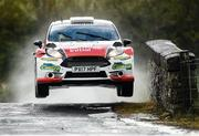 16 June 2018; Robert Duggan and Ger Conway in a Ford Fiesta R5 during stage 8 Knockalla of the Joule Donegal International Rally day 2 in Letterkenny, Donegal. Photo by Philip Fitzpatrick/Sportsfile