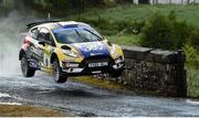 16 June 2018; Josh Moffett and Andy Hayes in a Ford Fiesta R5 during stage 8 Knockalla of the Joule Donegal International Rally day 2 in Letterkenny, Donegal. Photo by Philip Fitzpatrick/Sportsfile