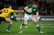 16 June 2018; Garry Ringrose of Ireland slips through the  tackle of Bernard Foley of Australia during the 2018 Mitsubishi Estate Ireland Series 2nd Test match between Australia and Ireland at AAMI Park, in Melbourne, Australia. Photo by Brendan Moran/Sportsfile