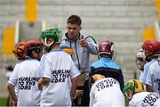 16 June 2018; Bord Gáis Energy Rewards Club winners attended the Bord Gáis Energy #HurlingToTheCore training camp in Páirc Uí Chaoimh today where they had the chance to meet hurling stars and Bord Gáis Energy ambassadors Alan Cadogan of Cork, Paudie Feehan of Tipperary and Fergal Whitely of Dublin. Pictured is Alan Cadogan of Cork speaking to players during the camp. All attendees were members of the Bord Gáis Energy Rewards Club, which offers its customers unmissable rewards throughout the Championship season, including match tickets and hospitality, access to training camps with Hurling stars and the opportunity to present Man of the Match Awards at U-21 games during the 2018 BGE #HurlingToTheCore training camp at Páirc Uí Chaoimh in Ballintemple, Cork. Photo by Eóin Noonan/Sportsfile