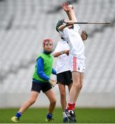 16 June 2018; Bord Gáis Energy Rewards Club winners attended the Bord Gáis Energy #HurlingToTheCore training camp in Páirc Uí Chaoimh today where they had the chance to meet hurling stars and Bord Gáis Energy ambassadors Alan Cadogan of Cork, Paudie Feehan of Tipperary and Fergal Whitely of Dublin. Pictured is young players during the camp. All attendees were members of the Bord Gáis Energy Rewards Club, which offers its customers unmissable rewards throughout the Championship season, including match tickets and hospitality, access to training camps with Hurling stars and the opportunity to present Man of the Match Awards at U-21 games during the 2018 BGE #HurlingToTheCore training camp at Páirc Uí Chaoimh in Ballintemple, Cork. Photo by Eóin Noonan/Sportsfile