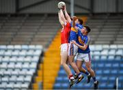 16 June 2018; Mark Keane of Cork in action against Gavin Ryan of Tipperary during the EirGrid Munster GAA Football U20 Championship quarter-final match between Cork and Tipperary at Páirc UÍ Rinn, Cork. Photo by Eóin Noonan/Sportsfile