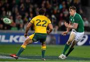 16 June 2018; Garry Ringrose of Ireland in action against Nick Phipps of Australia during the 2018 Mitsubishi Estate Ireland Series 2nd Test match between Australia and Ireland at AAMI Park, in Melbourne, Australia. Photo by Brendan Moran/Sportsfile