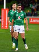 16 June 2018; Rob Kearney and Conor Murray of Ireland after the 2018 Mitsubishi Estate Ireland Series 2nd Test match between Australia and Ireland at AAMI Park, in Melbourne, Australia. Photo by Brendan Moran/Sportsfile