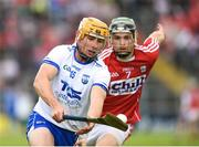 17 June 2018; Tommy Ryan of Waterford in action against Mark Coleman of Cork during the Munster GAA Hurling Senior Championship Round 5 match between Waterford and Cork at Semple Stadium in Thurles, Tipperary. Photo by Matt Browne/Sportsfile