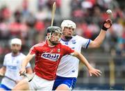 17 June 2018; Mark Coleman of Cork in action against Tom Devine of Waterford during the Munster GAA Hurling Senior Championship Round 5 match between Waterford and Cork at Semple Stadium in Thurles, Tipperary. Photo by Matt Browne/Sportsfile