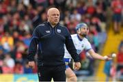 17 June 2018; Waterford manager Derek McGrath reacts prior to the Munster GAA Hurling Senior Championship Round 5 match between Waterford and Cork at Semple Stadium in Thurles, Tipperary. Photo by Matt Browne/Sportsfile
