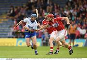 17 June 2018; Michael Walsh of Waterford in action against Bill Cooper of Cork during the Munster GAA Hurling Senior Championship Round 5 match between Waterford and Cork at Semple Stadium in Thurles, Tipperary. Photo by Matt Browne/Sportsfile